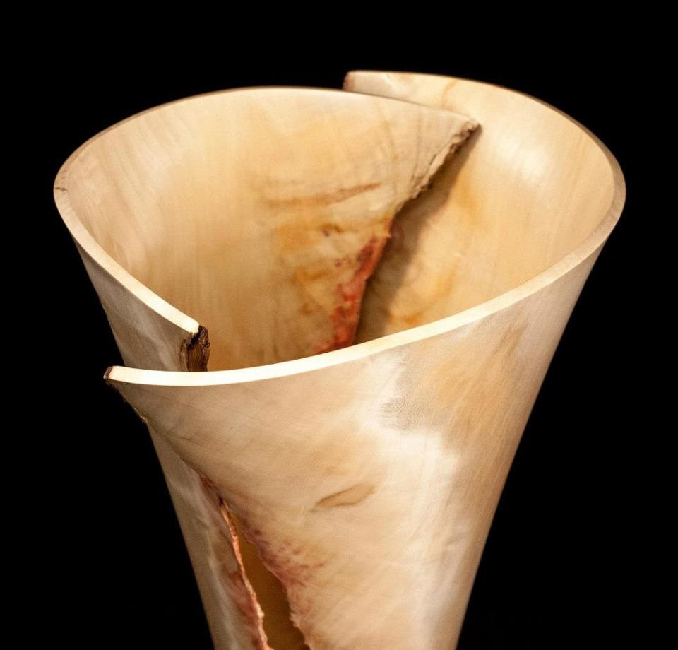 Box Elder Vase, my entry in Artprize 2012.  SOLD